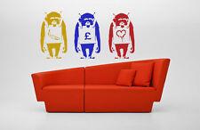 Banksy Sandwich Board Monkey STENCIL Graffiti Wall Art Template Painting