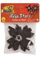Black Toy Weapon Ninja Stars