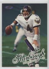 1998 Ultra #295 Jim Harbaugh Baltimore Ravens Football Card