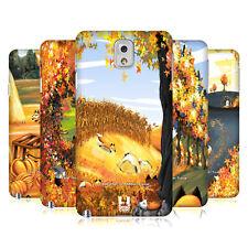 Funda Funda Diseños 10 velada Zorros rígida posterior Funda Para Samsung teléfonos 2