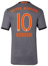 Trikot Adidas FC Bayern 2016-2017 Away - Robben 10 [128 bis 3XL] FCB