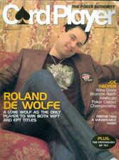 2007 Card Player Magazine: Roland De Wolfe Cover