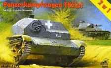 Panzerkapfwagen PZ. KPFW TKS (P) (Wehrmacht & ESTONE ESERCITO MARCATURE) 1/72 giri/min