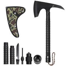 "Portable 17.3"" Tactical Camping Axe Sheath Folding Hatchet Survival Hiking"
