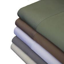 "Bedroom Bed Sheet Set 100% Bamboo Viscose 600TC Fits Up To 18"" Mattress Sateen"