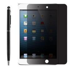 Privacy Anti-Spy Screen Protector Film Guard Apple iPad Mini 4 3 Air 2 + Stylus