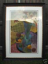 Large Original D F Bailer Oil on Paper
