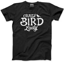 Crazy Bird Lady-Pájaro Amante Regalo de propietario del animal doméstico hombre Unisex Camiseta
