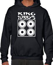 KING TUBBY'S TRIBUTE HOODIE ALL SIZES + COLS (Gildan dj tubby reggae dub roots)