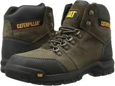 Men's Caterpillar Outline Steel Toe Safety Work Boot Dark Gull Grey 90802