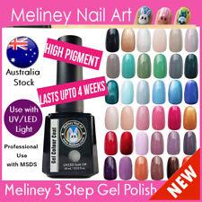 Meliney 3 Step Gel Nail Polish Colours UV LED Soak Off Professional Salon Kit