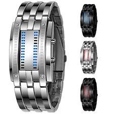 1X(Orologio da polso con LED digitale a forma di lega da uomo D6K1)