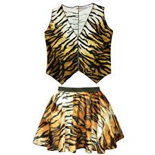 TIGER JUNGLE BOOK Dance COSTUME Fancy Dress WAISTCOAT or SKIRT SHOW DANCE