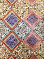 Diamond Multi Pattern Stretch Lightweight Knit Jersey Polyester Spandex Fabric