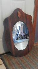 Solid Oak Wall Mirror  (MR27)
