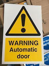 Segnale di avvertimento-Automatic Door - 300x200mm segnaletica di sicurezza