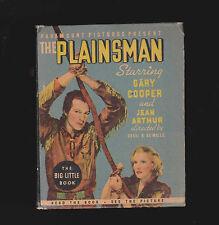 The Plainsman BLB Gary Cooper, Jean Arthur Big Little Book (Photo Cover)