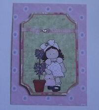 PK 3 piuttosto Hannah Pianta Da Vaso topper abbellimento topper per cartoline