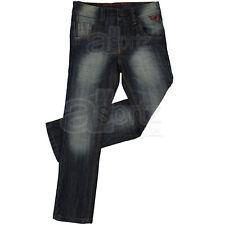 Neuf garçons enfants next denim slim leg dark wash jeans âge 2 -12 13 14 ans