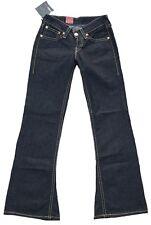 LEVI'S GRIS BLACK Type 1 927 Jeans Hanche Jeans EVASE Pantalon W 27 28 29 30 31 L 34