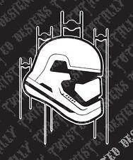 Star Wars Stormtrooper first order car truck vinyl decal sticker force awakens