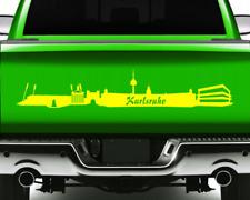 Aufkleber Stadt Karlsruhe Autoaufkleber  11 Farben 2 Größen
