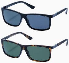 Polaroid P8346 Unisex Rectangular sunglasses Black or Havana w/ Polarized lens