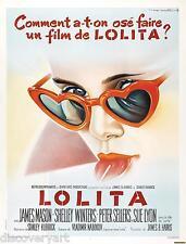 Lolita Multi-Size Canvas 1962 Movie Poster Wall Art Film Print James Mason