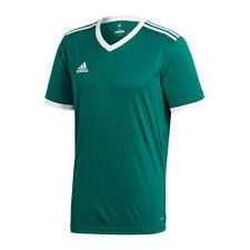 Adidas Tabela 18 Maillot manches courtes vert foncé blanc