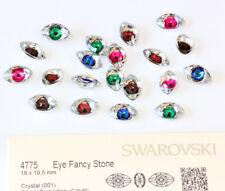 NEW Genuine SWAROVSKI 4775 Eye 18mm Fancy Stones Crystals * Many Colors