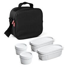 Bolsa térmica porta alimentos TATAY Urban Food con 4 Tápers incluidos - sin BPA