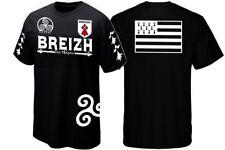 T-SHIRT BREIZH - Drapeau BRETAGNE - CELTIC - GWENN HA DU