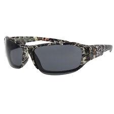 New Hunting Camouflage Sports Wraparound Half Frame Sunglasses  Camo mossy oak