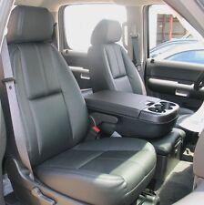 2007 - 2009 Silverado Crew Leather Interior seat covers - Black