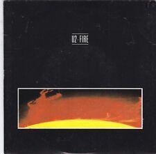 "U2 - fire / j. swallo 45"" first press ORANGE label"