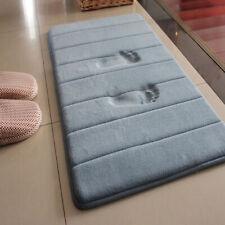 Soft Memory Foam Bath Mat Rug Floor Anti-Silp Bathroom Rug Carpet Mat Toliet Mat