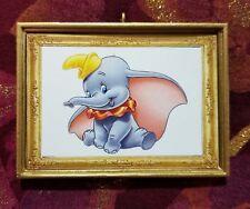 Dumbo Inspired Christmas Custom Handmade Ornament/Magnet/Dollhouse miniature