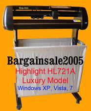 HIGHLIGHT HL721A VINYL CUTTER CUTTING PLOTTER 4MB CORELDRAW WIN 10/8/7 SALE ON