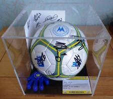 Clear Acrylic Football Display Case Box Unit Perspex Sports Memorabilia