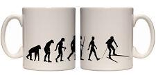 Ape to man evolution mug birthday gift idea all designs
