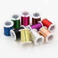 1M 2M 5M 10M / 0,3 mm fil de cuivre souple pour bricolage, bijoux, accessoires..