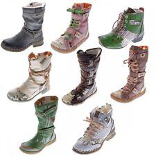 TMA B-Ware Leder Stiefel Stiefeletten Damen Winter Schuhe 2018 7086 2013 7087