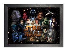 Star Wars 4 American Epic Space Opera Film Poster Movie Galaxy Jedi Picture