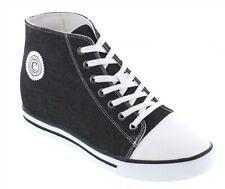 CALDEN K8828102- 3 Inches Elevator Height Increase Cap-Toe Trendy Style Sneaker