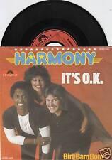 Eurovision 1978 HARMONY It's O.K. 45/GER/PIC