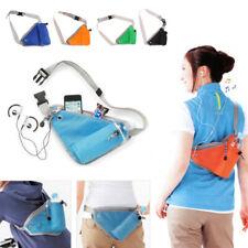 Sports Waist Bag Triangle Running Cycling Water Bottle Pocket Shoulder Pack