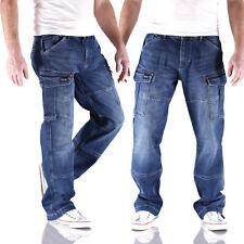 Big Seven Brian Night Blue Comfort Fit Cargo Herren Jeans Hose