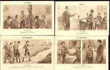 CARTOLINE PERIODO FASCISTA-LE REGOLE DELL'ASPIRANTE (1)