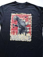 Godzilla Rising Sun Japanese Letters T-Shirt