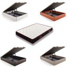 Conjunto canapé abatible madera + colchón viscoelástico Memory Fresh 3D